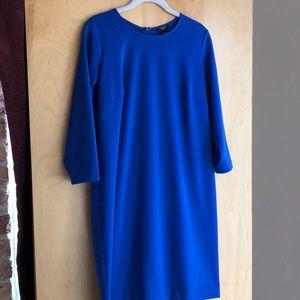 Ann Taylor Petite cobalt blue dress size 10P